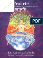 Prakriti_ Your Ayurvedic Constitution - Svoboda, Dr. Robert