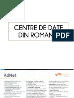Centre de Date Din Romania