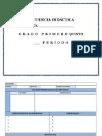 Formato Plan de Aula - Secuenci Por Periodo