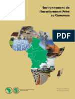 Cameroun - Environnement de l%u2019investissement privé.pdf