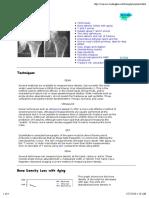 Bone Densitometry 1