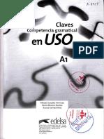 Competencia gramatical en USO A1 - Claves