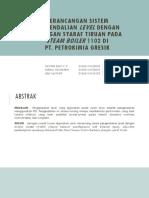 Perancangan Sistem Pengendalian Level Dengan Jaringan Syaraf Tiruan
