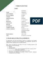 MAPURISA CV.doc