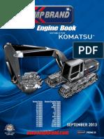 KOMATSU Engine Parts Catalogue 2013 KMP