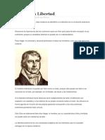Hegel y La Libertad