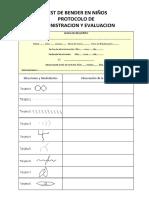 - Bender Protocolo (Niños) Administracion y Evaluacion