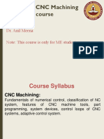 ME3480 CNC Machining