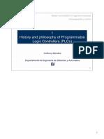 Lección 1 Historia y Filosofía de Los Autómatas Programables