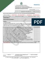 PRESENCIAL Formulário de Avaliação de Estágio