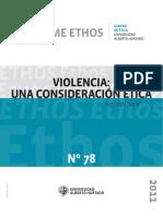 Violencia -Una Consideración Ética 2