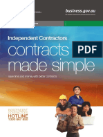 Independent Contracts Made Simple