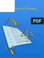 Alchemical Glossary
