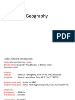 PPT Indian Geography