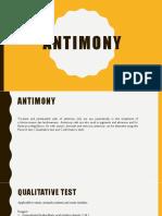 Antimony