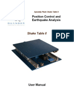 Shake Table II Manual