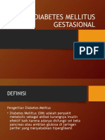 Diabetes Mellitus Gestasional Ppt