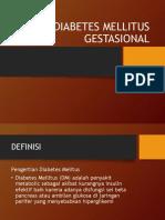 Diabetes Mellitus Gestasional Ppt