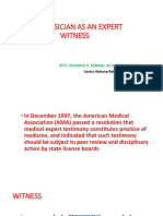 Physician as Witness
