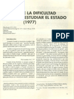 Abrams, Philip. Notes on the Difficulty of Studying the State (ESPAÑOL)