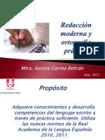 Presentación redacción moderna y ortografía práctica .pdf