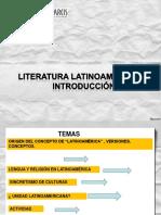 contexto literatura latinoamericana siglo XX