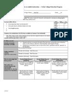 Unit Plan Test Lesson Plan - Panel Discussion