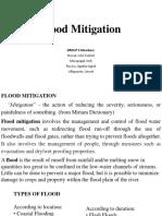 Flood Mitigation PPOINT