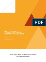 VMware HealthAnalyzer Install and User Guide v5.1.0