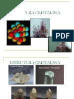 Tema II Estrutura Cristalina 2017.1