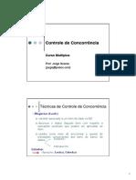 10. Controle de Concorrência