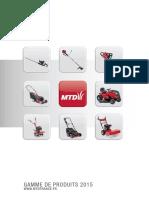 Catalogue MTD 2015