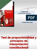 Test de proporcionalidad e interpretación constitucional