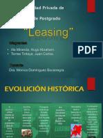 Tratamiento Tributario de Operaciones de Leasing, Retro Arrendamiento Financiero