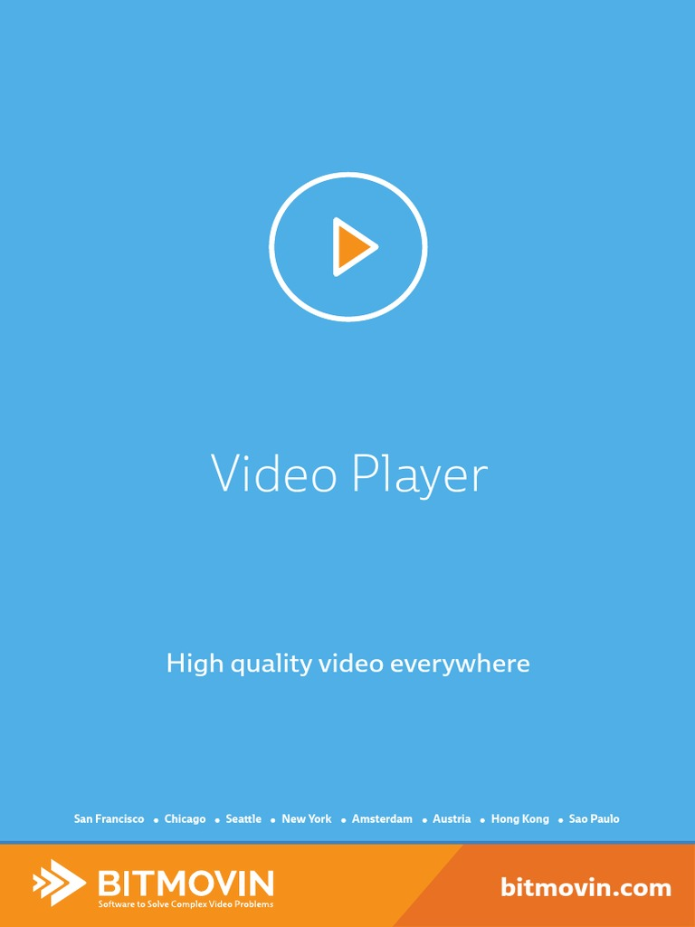 Bitmovin Player | Android (Operating System) | Computing
