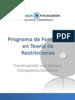 Programa de Formacion en TOC