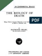 John Hopkins University - The Biology of Death.pdf