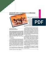 2009 - Artigo - Valores e Lideranca