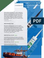 Weicon Marine Adhesives - Sealants - Germangulf.com