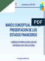 Marco Conceptual Para La Presentación de Los Estados Financieros