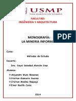 Monografia de Mineria Informal