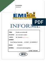 Informe Conversion