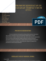 Promosi Kesehatan Di Tatanan Tempat Umum (TTU