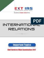International Relations CSE 2018 Mains 101_6