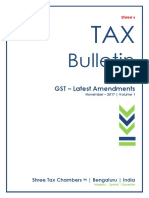 Tax Bulletin - Nov 2017