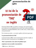El lío de la pronunciación de 'THE' en inglés - Aprende Inglés Sila