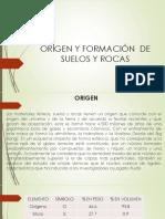 origen y formacion de suelos y rocas