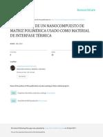 Fabricacion de Un Nanocompuesto de Matriz Polimerica Usado Como TIM - Jorge Patino