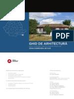 Ghid de Arhitectura Zona Dobrogea de Sud