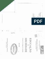 02 - DURKHEIM, E. a Educação Como Processo Socializador (9 Cp)
